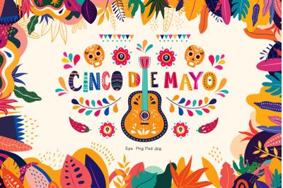 Cinco de Mayo Mexico collection