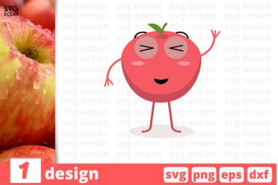 1 APPLE svg bundle, fruitcricut svg