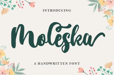 Moleska Script