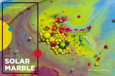 Solar Marble Texture | vol.2