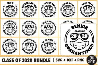 Class of 2020 Bundle SVG Cut File