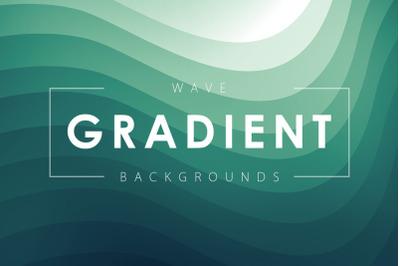 Wave Gradient Backgrounds