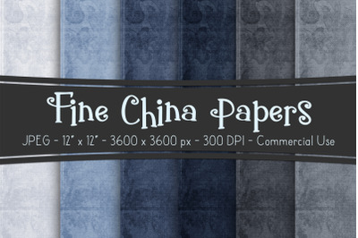 Fine China Digital Papers