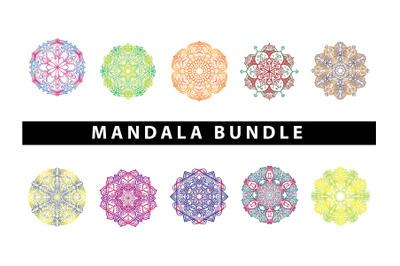 Art Mandala Pattern Bundle Design