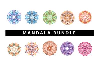 Mandala Art  Bundle 10 Pattern