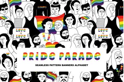 PRIDE PARADE/LGBTQ