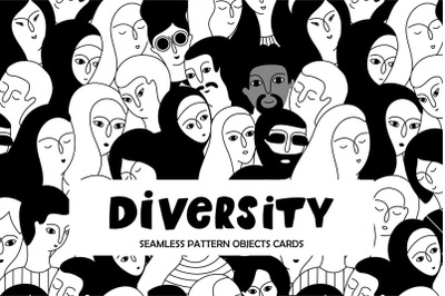 Social diversity/objects collection