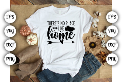 Ther'es no place like home  SVG DXF PNG EPS