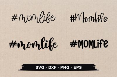Momlife Typographic SVG Design Bundle