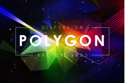Dispersion Polygon Backgrounds