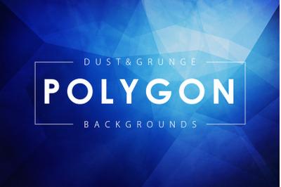 Dust & Grunge Polygonal Backgrounds