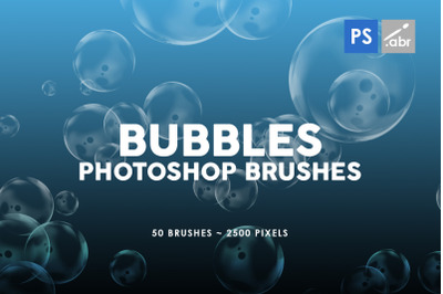 Bubble Photoshop Stamp Brushes