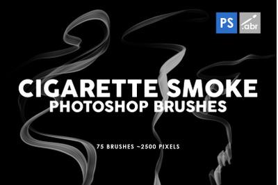 Cigarette Smoke Photoshop Stamp Brushes