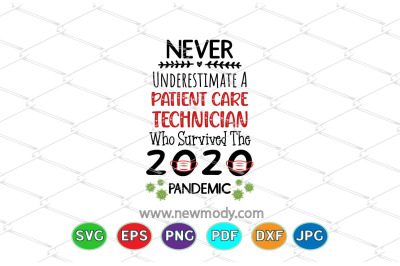Never Underestimate A Patient Care Technician Who Survived SVG