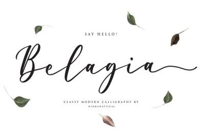 Belagia + Bonus Gilas Font