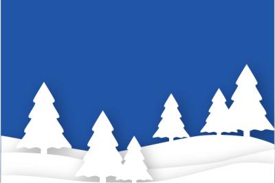 Winter Shadow Box SVG
