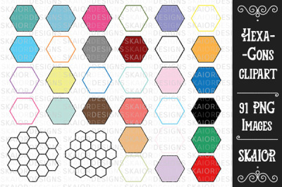Hexagons Clipart