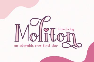 Moliton Serif Font Duo