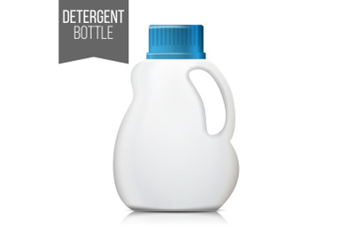Bubbles Bottle Mockup