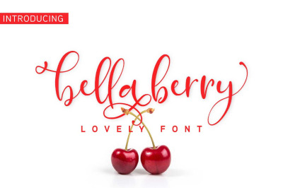 BellaBerry Handwritten Script