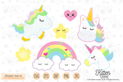 Unicorns Set- Graphics
