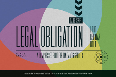 Legal Obligation - Sans Serif