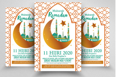 Ramadan Holy Month Flyer Template