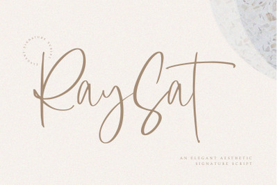 Raysat Signature