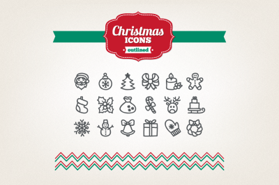 Hand Drawn Christmas Icons