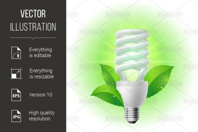 """Energy saving lamp"""