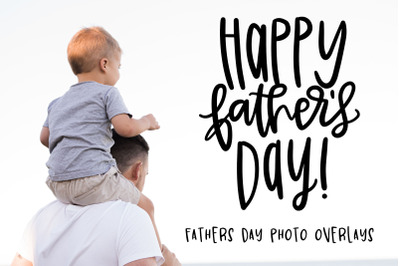 Fathers Day Photo Overlay