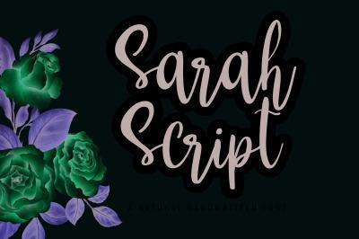 Sarah Script