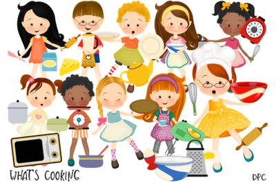 What's Cooking Kitchen Clipart