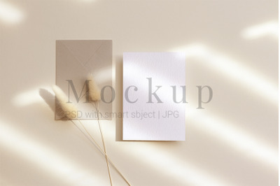 Mockup Template,Card Mockup,Greeting Card