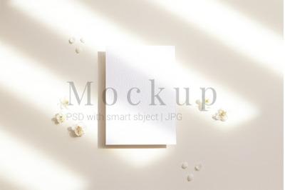 5x7 Card Mockup,Card Mockup,PSD Mockup