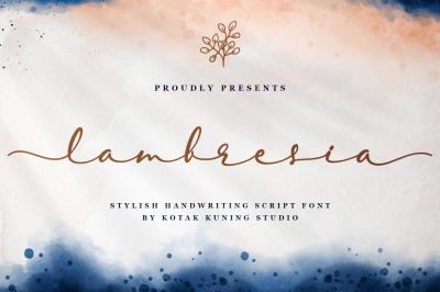 Lambresia Script