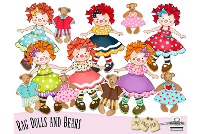 Rag Doll and Bears