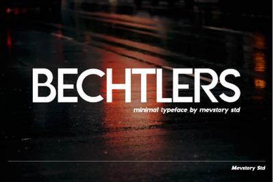 Bechtlers Modern & Elegant Sans Serif Font