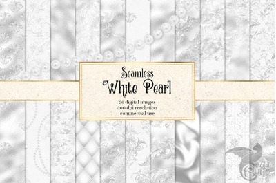 White Pearl Digital Paper
