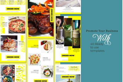 Foodies! Social Media Template