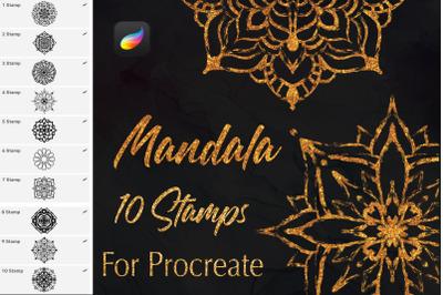 Procreate Mandala Stamps