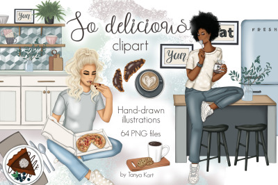 So Delicious Clipart & Patterns