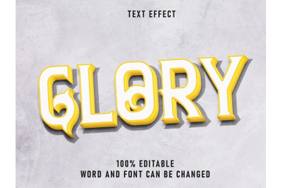 Vintage Text  Effect Smash Green Color with Grunge Style Retro