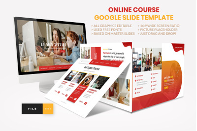 Online Course - Education Google Slide Template