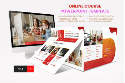 Online Course - Education PowerPoint Template
