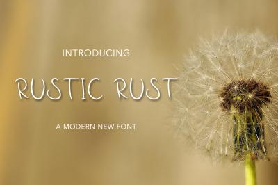 Rustic Rust