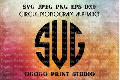 Monogram font svg, Alphabet Bundle SVG, Letter svg