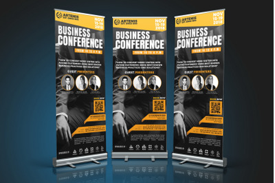 Business Conference Roll-Up Banner