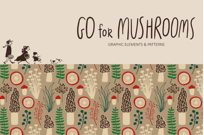 Go for Mushrooms. Forest Collection