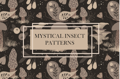 Mystical Insect Patterns